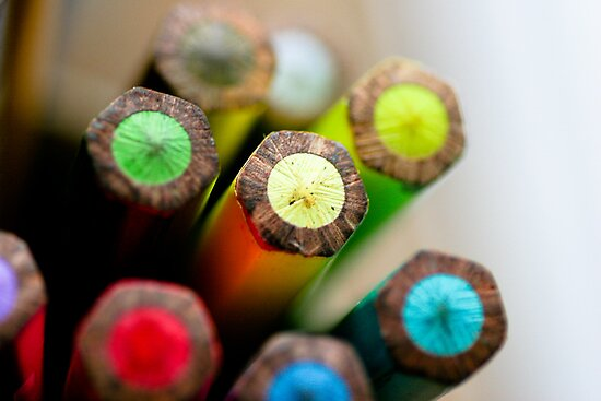 Colourful Pencils by InfotronTof