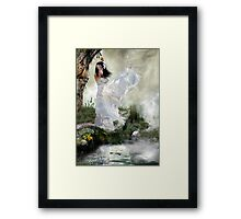 Was it all just a dream. Framed Print