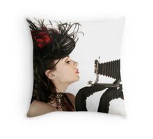 Kodak Klose-Up Throw Pillow