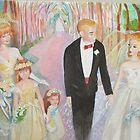 Barbie and Ken Wedding by Celeste Schor