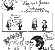 President James Buchanan by AmbrMerlinus