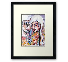 Virtue...With Stars in Her Eyes Framed Print