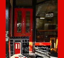 The Red Door Cafe by Hope Ledebur