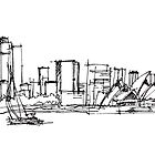 Sydney Silhouette by iskamontero
