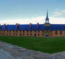 Fortress Louisbourg, Cape Breton Nova Scotia by Keith Doucet