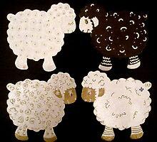 Fiona's flock by Alexandra Komarovskaia