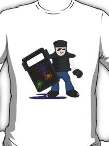 The paint pot monitor T-Shirt