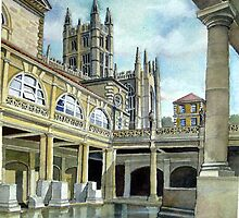 Bath Abbey by C David Johnson