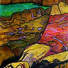 "She's All Washed Up -(Printmaking and TEXTA) by Belinda ""BillyLee"" NYE (Printmaker)"