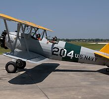 Boeing/Stearman PT-17 Kaydet by Mark Kopczewski