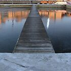 Sunrise at Newcastle Baths 2 by gilleebee
