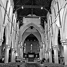 Interior of Christchurch Cathedral by pennyswork
