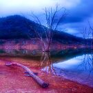 Dusk at Lake Eildon #1 by Jason Green
