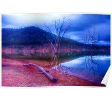 Dusk at Lake Eildon #1 Poster