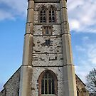 St. Andrews Church Tower. Farnham ,Surrey. Uk. by relayer51