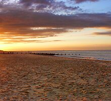 Waxham Beach, Norfolk, East Anglia, UK by Mark Snelling