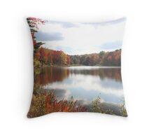 Parker Dam, Elk County, PA Throw Pillow