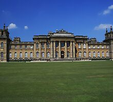 Blenheim Palace South Front by Dave Godden