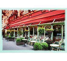 Paris Cafe Photographic Print