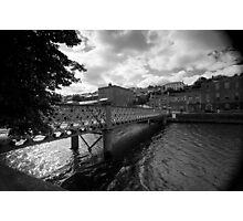 A Bridge, A River Photographic Print