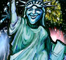 Lady Liberty by Kevin Middleton