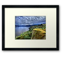 Okanagan Lake on a Thursday Framed Print