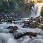 Tawhai falls 3 by Paul Mercer