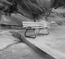 Beach seats. Cronulla, NSW by Ian Ramsay