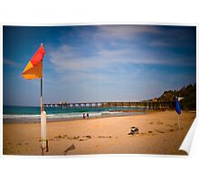 Swim Between the Flags Poster