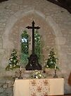 Cross in St Boniface old Church, IOW. by sweeny