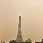 Eiffel tower in the distance  by Laura  Carey