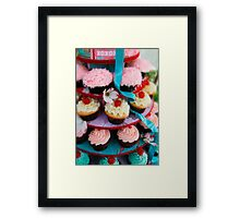 Let Them Eat Cupcakes Framed Print
