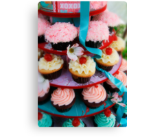 Let Them Eat Cupcakes Canvas Print