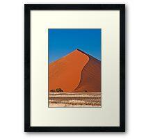 S-curve Framed Print