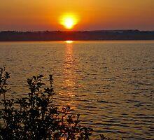 Sunset on Georgian Bay by Heather Paakkonen