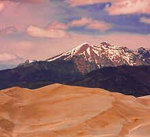 The Great Sand Dunes and Sangre de Cristo Mountains by Bo Insogna