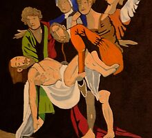 The Entombment by mikeloughlin
