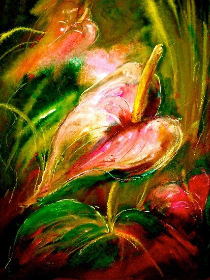Flowers...Anthurium by © Janis Zroback