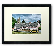 Cavendish Suffolk  Framed Print