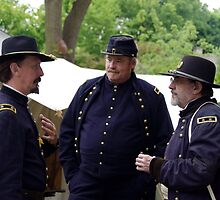Union Generals discussing Strategy by James Formo