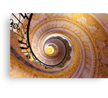 Staircase at Melk Canvas Print