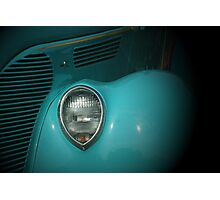 Classic in Turquoise Photographic Print