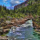 Kootenai River - The River Wild by rocamiadesign