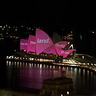 Vivid Opera House by Richard  Cubitt