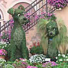 Topiary Lady and the Tramp by Patricia127