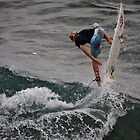 Surfer in Maui by calgecko