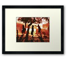 It's This Way Framed Print