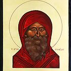 Icon of St.Simeon by stepanka