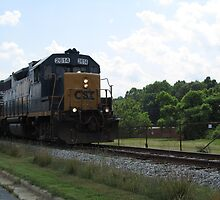 CSX Train by Jaclyn Hughes