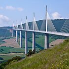 The Millau Viaduct - France by Nala